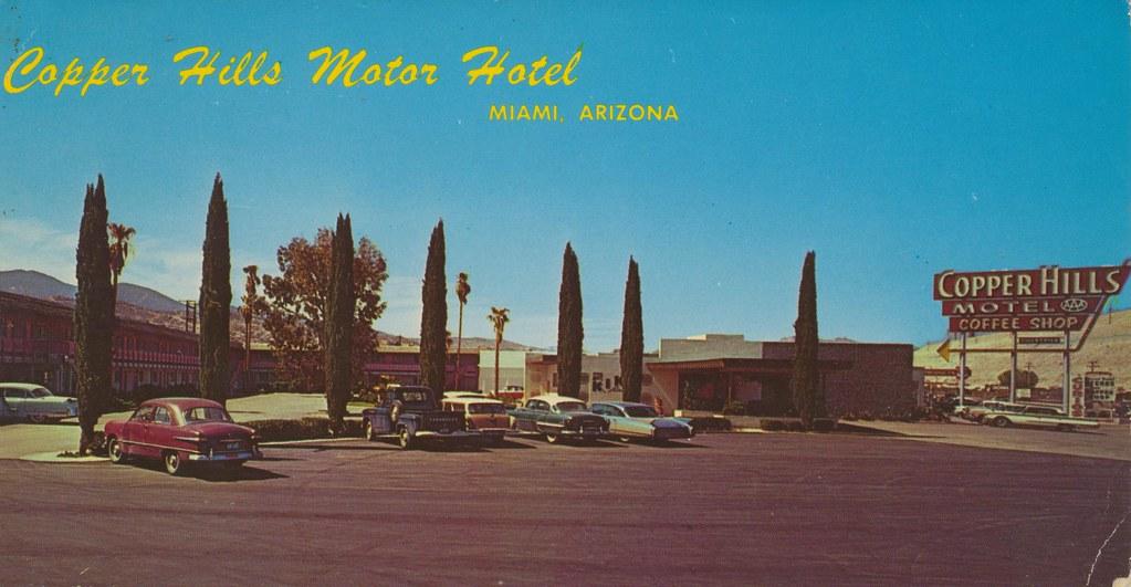 Copper Hills Motor Hotel - Miami, Arizona