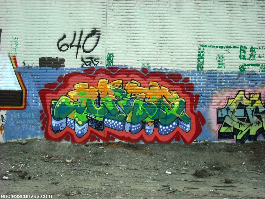 JURNE graffiti - Oakland, Ca