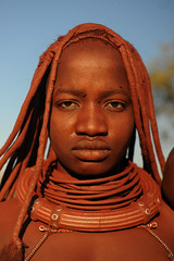 Himba - Namibia (World_Discoverer) Tags: africa people african culture tribal safari afrika tribe ethnic namibia tribo himba afrique ethnology tribu namibie tribus ethnie discoveryexpeditions geerthenau