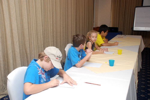 caricature workshop for The British Club - 21