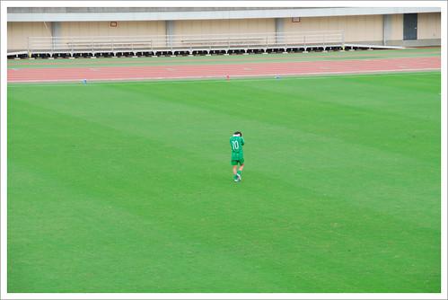 岩渕真奈の苦悩@日テレ・ベレーザ VS INAC神戸_201008