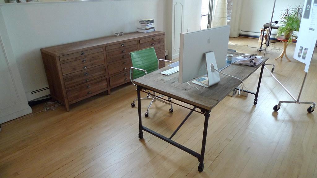 Printmaker's sideboard