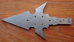 Titanium Star Arrowhead (TitaniumSoul) Tags: handmade craftsman arrowhead broadhead dlux4 titaniumsoul