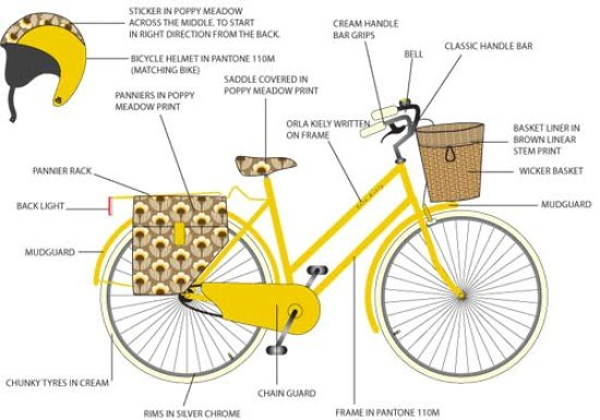 Orla Kiely Design Bike