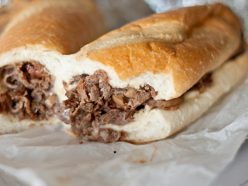 Cheesesteak w/mushrooms (Hemo's)