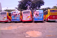 the back view...again! (bhettina limchu) Tags: bus ads photo philippines explore trans pure johnsons essentials backview gotransit sanagustin 8890 8894 8896 9917 9924 busesinthephilippines aranetacenterbusterminal