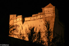 La torre (gi82) Tags: italy tower night canon italia torre sicily sicilia scorcio trapani bonagia tonnara 550d torresaracena 55250