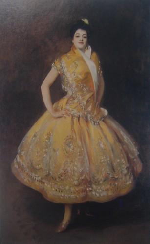 La Carmencita, John Singer Sergeant, 1890, Musée d'Orsay, De Young Museum, San Francisco