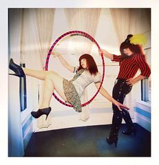 ringleader (bjorkish) Tags: selfportrait photoshop levitation olympus multiplicity tricks e3 clone cs3