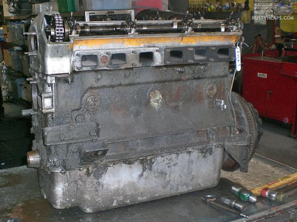 XK Engine Teardown: Exterior