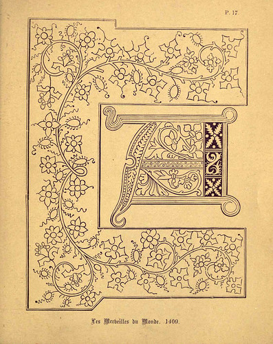 007 Lamina para ejercicios del grabado anterior-A primer of the art of illumination for the use of beginners.. 1874-Freeman Delamotte