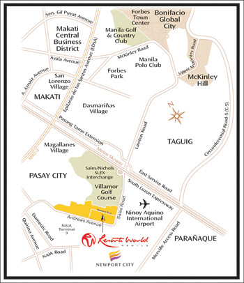Location of Resorts World Hotel, Manila - Movie Reviews - PinayReviewer.com