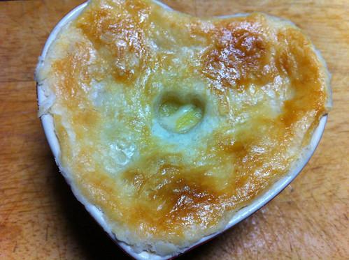 Heart-y Salmon Pot Pie