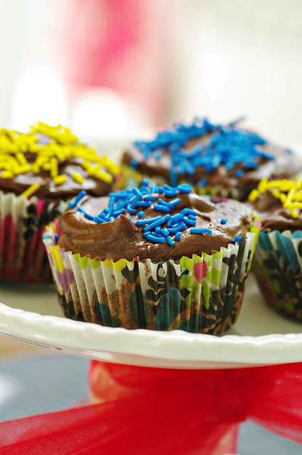 Chocolate & Chili Cupcakes