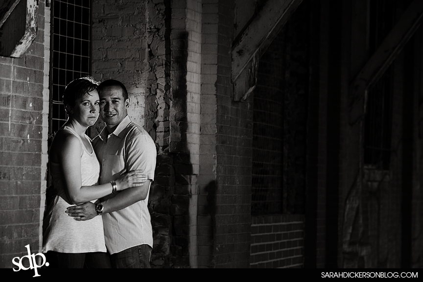 West Bottoms Kansas City engagement photographer