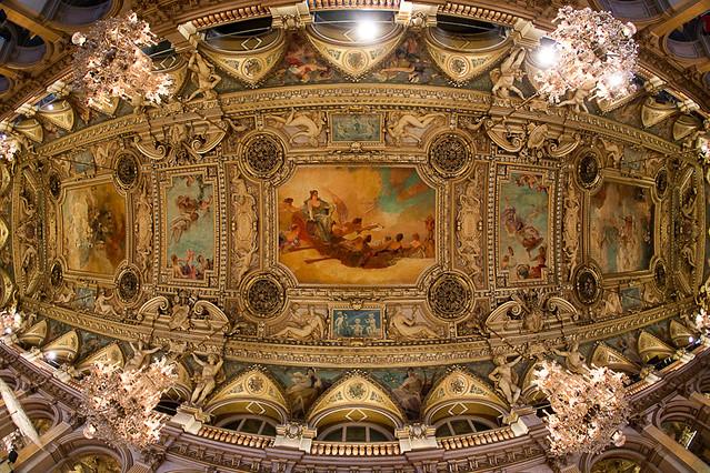 Hôtel de Ville de Paris - Au dessus de la Salle des Fêtes