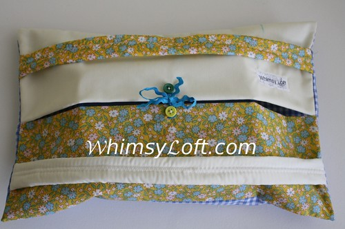 Tapau bag (small version of Food Warmer) - yellow chrysantemum