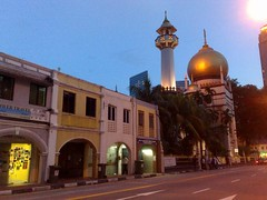 Sultan Mosque and North Bridge Road