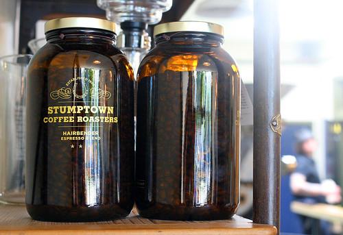 Hairbender espresso blend in jars