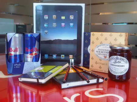 JUMP Blogging hamper