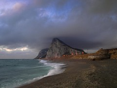 EL MAR EN INVIERNO (VII) (Pedro M.) Tags: sea espaa beach rock clouds mar andaluca spain espanha mediterr
