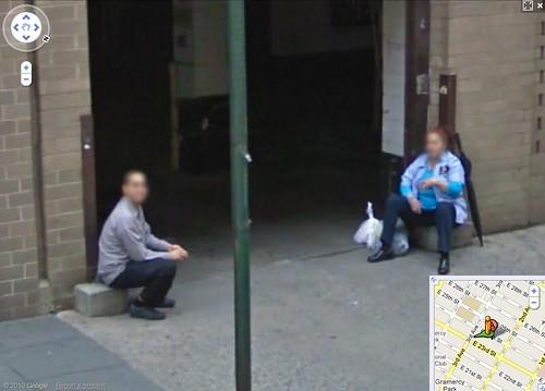 Google Maps Faces