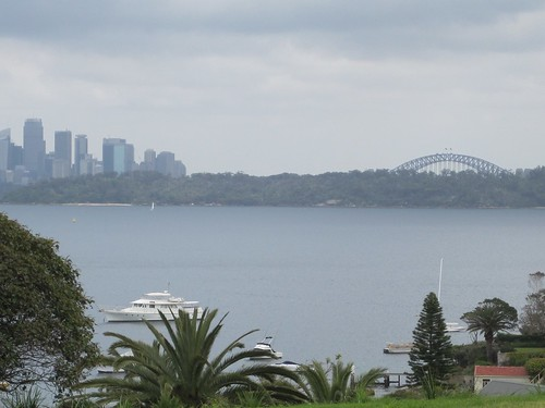 Sydney skyline from Watsons Bay