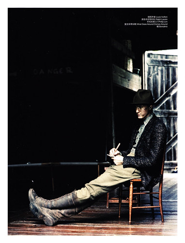 Tyler Riggs for Vogue Men's China FW10-11 by Regan Cameron