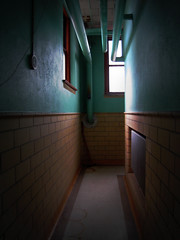 day sixty four /365 (icolorinthelines) Tags: new york school ny hall high room secret rochester locker academy nazareth