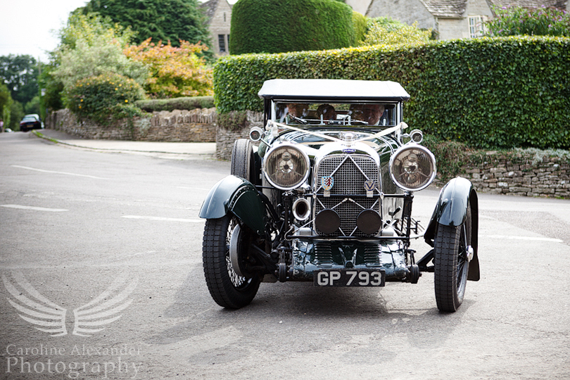 Gloucestershire Wedding Photographer 13 Vintage Car