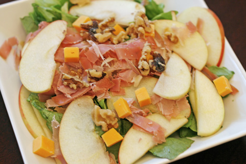 CSA Day: Apple, Prosciutto and Walnut Salad and Other Tasty Ideas