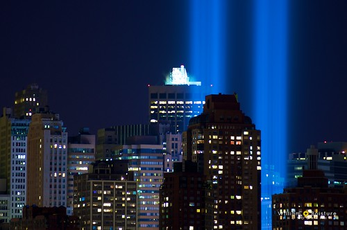 9/11 Tribute in Light - 9/11/2010