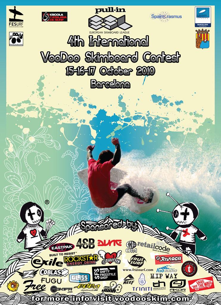 Voodoo skimboard Contest 2010