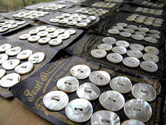 MOP buttons (Wychbury Designs) Tags: uk vintage beads handmade buttons sewing craft fair makers wychbury