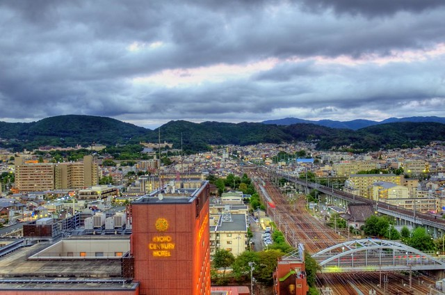 Hotel Granvia Kyoto 房景 - HDR