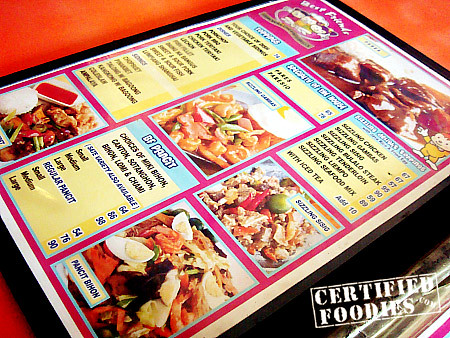 Best Friends menu - Pancit, Pares, Rice Toppings - CertifiedFoodies.com
