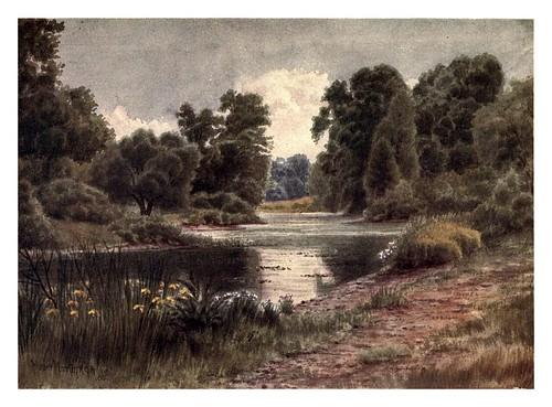 005-El lago visto desde el sur-Kew gardens 1908- Martin T. Mower