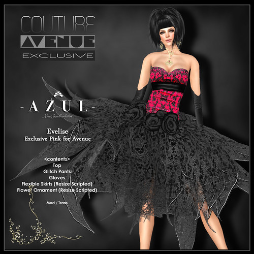 Couture AVENUE Exclusive_AZUL Evelise
