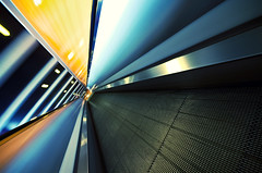 (deNNis-grafiX.com) Tags: city urban berlin lines architecture speed dynamic escalator scifi futuristic rolltreppe