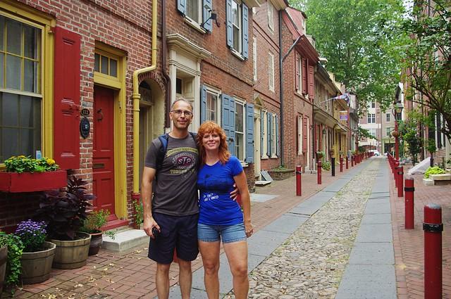 Ben + me + Philly = Love!