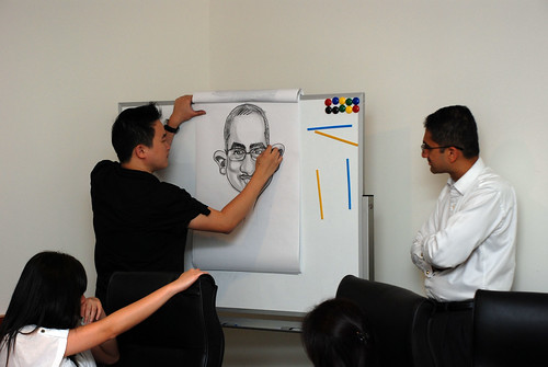 Caricature Workshop for Spire Research & Consulting - 43