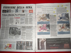 My Mapping Stereotypes on the Front Page of Corriere Della Sera (alphadesigner) Tags: italy newspaper italian map article frontpage publication corrieredellasera alphadesigner mappingstereotypes