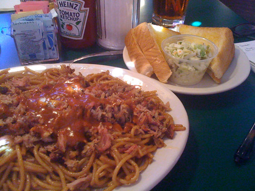 Barbecue Spaghetti from Bar-B-Q Shop