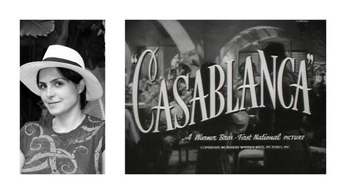 """Me in """"Casablanca"""""""