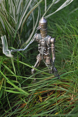 88 in the bush (skipthefrogman) Tags: toy star back action awesome repair esb empire figure hunter wars custom 88 bounty eight strikes ig eighty ig88 week88 skipthefrogman