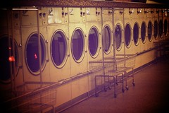 Laundry. (Two Black Dogs.) Tags: vintage empty laundry quotes