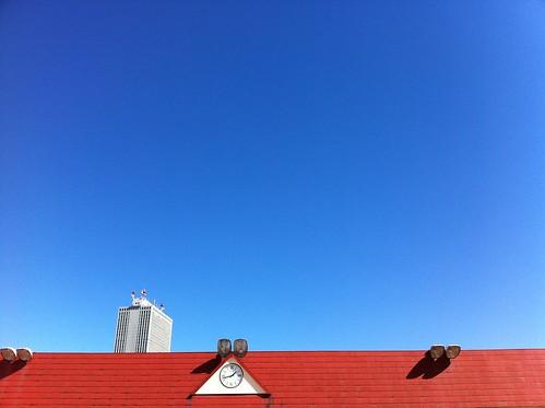 東武百貨店の屋上からサンシャイン1