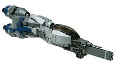 RF-23 Barracuda (Stefan Schindler) Tags: lego space spacecraft moc starfighter foitsop