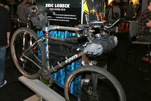Interbike 2010 - Eric Lobeck's Tour Divide ride