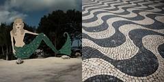 19 (Julio Lpez Saguar) Tags: sea idea mar waves fake concept mermaid olas nexus sirena falso concepto atrezzo diptico nexos juliolpezsaguar